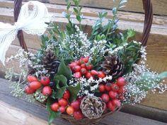 Dušičkový  košík II. Fall Decor, Autumn, Vegetables, Plants, Christmas, Manualidades, Xmas, Fall Season, Autumn Decorations