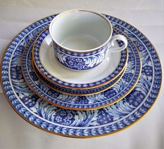 Block Spal Portugal Olbidos 60 PC Dinnerware Set Serving For 12 by Nzkdiscount on Etsy Elegant Table, Dinnerware, Portugal, Tea Cups, Unique Jewelry, Handmade Gifts, Tableware, Etsy, Dinner Ware