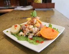 Peruvian Ceviche!favorite thing to eat ever !!! ... besides strawberries