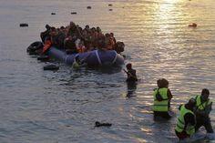 Crise imigratória na União Europeia gerou acalorado debate na UE e ameaças de Renzi aos países do leste europeu (foto: EPA)