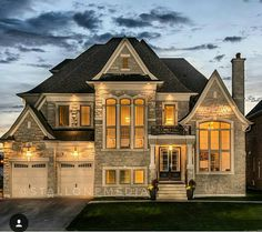 Derails to an exterior is just as important as the details in the interior of a home. Captured by Dream Home Design, My Dream Home, House Design, Dream House Exterior, Dream House Plans, Future House, My House, Luxury Homes Dream Houses, Dream Homes