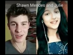 Treat you better - Shawn Mendes and 11 year old Julie Bella (smule duet)...