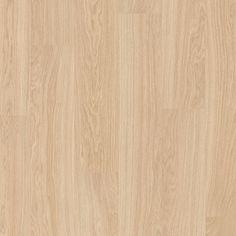 Bege Eligna Wide Laminado Carvalho branco oleado, régua única UW1538