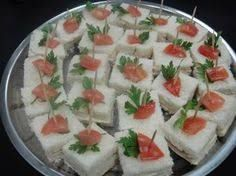 Resultado de imagen de mini sanduiches para festas