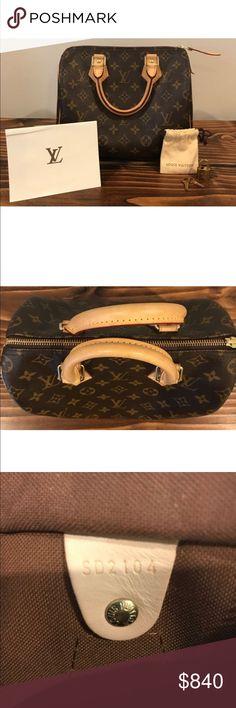 Louis Vuitton Speedy 25 Monogram Brand new authentic Louis Vuitton Speedy 25 Monogram Louis Vuitton Bags