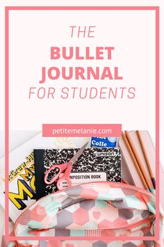 Bullet Journaling for students, Part 1, 2 and 3. Tips to help students to be more organized during the school year. The complete guide to help students be more organized with a Bullet Journal during the school year. Class schedule, weekly schedule, homework, group projects, budget, finances, meal prep. Weekly Schedule, Class Schedule, Bujo, Bullet Journal School, High School Students, Getting Organized, Homework, Group Projects, Organiser
