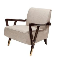 The Charles Club Chair by Studio Van den Akker | http://www.luxesource.com