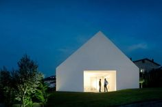 :: ARCHITECTURE :: Residence located in Leiria, Portugal and comes from the creative minds of architecture firm Aires Mateus & Associados - absolutely amazing!!! #architecture