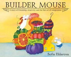 Two mouse friends have two distinctly different uses for leftovers.     Edgar loves to build with them.     Toby loves to eat them.     This makes life challenging.     So Edgar sets out to find someone who will appreciate his creations as art, and not as lunch.
