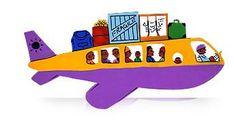 Aeroplane Tin Art Fridge Magnet by GoodiezOnline on Etsy