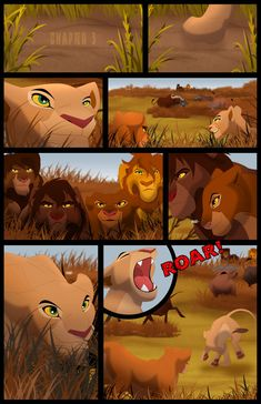 Scar's Reign: Chapter Page 1 by on DeviantArt Lion King Series, Lion King Story, Lion King Fan Art, Lion King 2, Disney Lion King, King Art, Big Cats Art, Cat Art, Lion King Drawings