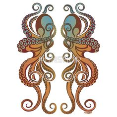 I think I've found the octopus design of my dreams - just one of them though.