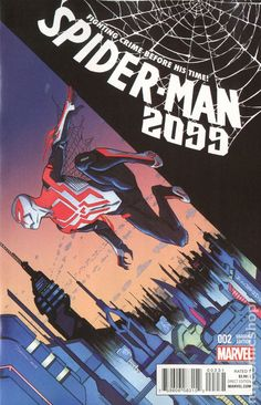 Spider-Man 2099 (2015 3rd Series) 2C Marvel Comics Modern Age Comic book covers