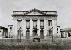 Teatro Sao Carlos  construido em 1850 e demolido em 1922 - No mesmo local ( atras da Catedral ) foi erguido o novo Teatro Sao Carlos, inaugurado em 10 de Setembro de 1930 e demolido em 1965 . Em 1950 passou a chamar-se Teatro Carlos Gomes