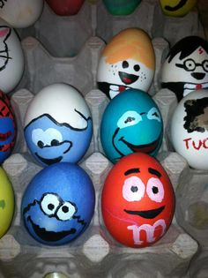 more easter eggs that i painted - Easter Egg Ideas