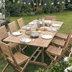 roscana teak wooden 6 seater dining set bq for all your home and garden supplies and advice on all the latest diy trends