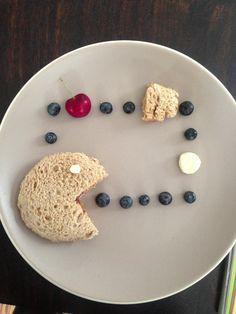 Pac Man kids lunch! #kids #lunch #funfood