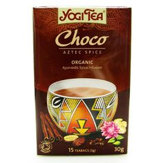 Yogi Tea Choco Aztec Spice Tea Organic