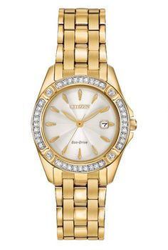 Citizen Eco-Drive Silhouette Crystal EW2352-59P Silhouette Crystal