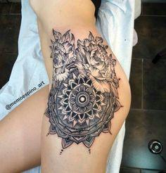 101 best Tattoos for girls photos by Badass Tattoos, Sexy Tattoos, Body Art Tattoos, Girl Tattoos, I Tattoo, Tatoos, Tattoo Girls, Henna Ink, Henna Body Art