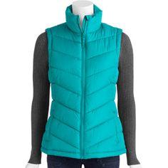 0088680964448 Walmart - Faded Glory Womens Bubble Puffer Vest $9.96