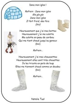 Les comptines : Hiver, froid, banquise, bonhomme de neige Winter Activities, Classroom Activities, Activities For Kids, Crafts For Kids, Core French, French Immersion, Teaching French, Continents, Kindergarten