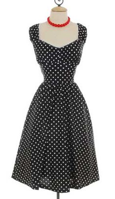 I love polka dots...and this dress is super cute