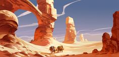 Desert Caravan by Jastorama on @DeviantArt