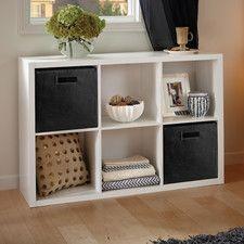 Decorative Storage 6 Cube Organizer