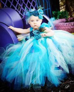 Peacock Tutu Dress1st BirthdayPhoto ShootCake by allaboutcouture, $84.95