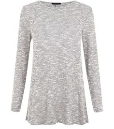 Discover the latest trends with New Look's range of women's, men's and teen fashion. Browse of new lines added each week. Grey Long Sleeve Tops, Long Sleeve Tunic, Chunky Knit Cardigan, Grey Top, Teen Fashion, New Look, Knitwear, Latest Trends, Men Sweater