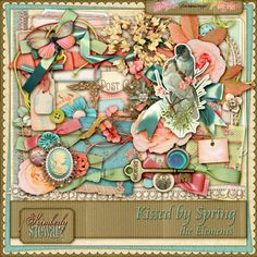 Kissed by Spring – the Elements by Kimberly Stewart @Plaindigitalwrapper.com