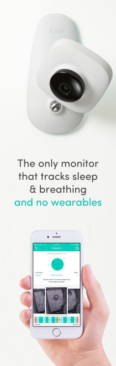 Enter to win a Knit monitor and sign up to receive the best Kickstarter discount. Knit is the only baby monitor to track sleep AND breathing...all without wearables. Works till baby is 6!