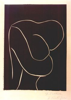 Matisse • Embrace I adore this simplest of line drawings, by Matisse: Yet it suggests, weight, relationship, closeness, intimacy, genuineness, love, nurturing, support, protection... anything and everything the observer seeks to find therein...
