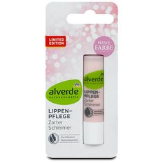 alverde Lippenpflege Zarter Schimmer, Lippenpflege jetzt bei dm online.