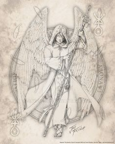 Archangel Raphael by jayfrench