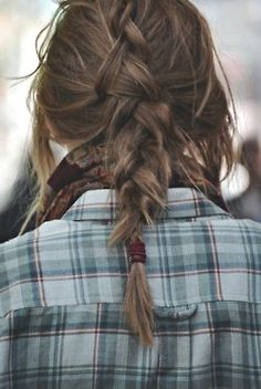 Love this messy braid