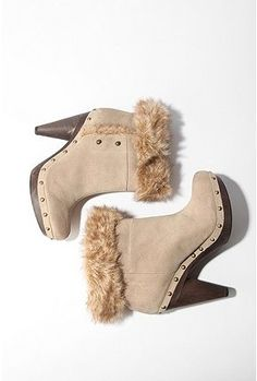 UrbanOutfitters.com > Seychelles Faux Fur Clog Boot - StyleSays