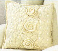Almofadas croche - idéias   Mundo do Artesanato