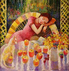 pintura de Sandra Bierman