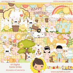 http://acriativo.com/loja/index.php?main_page=product_info&cPath=34&products_id=1263  #pascoa #easter #felizpascoa #coelho #scrapdigital #happyeaster