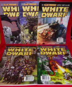 White Dwarf No. 288 No. 289 No. 290 No. 291 No. 292 Games Workshop Hobby Magazin #WhiteDwarf
