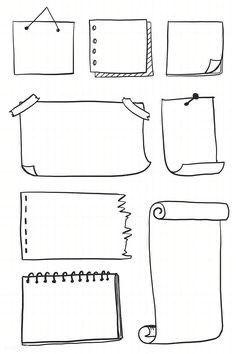 Bullet Journal Headers, Bullet Journal Banner, Bullet Journal Aesthetic, Bullet Journal Notebook, Bullet Journal School, Bullet Journal Ideas Pages, Bullet Journal Inspo, Schrift Design, Sketch Note