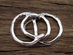 Multi Strand Circular Artisan Hook Clasp in by VDIJewelryFindings
