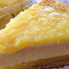 Pineapple Macadamia Nut Cheesecake @ Dole Plantation.It was creamy with fresh pineapple an edged with macadamia nuts... mmmm!