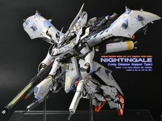 "Custom Build: RE/100 Nightingale ""Long Range Support Type"" - Gundam Kits Collection News and Reviews"