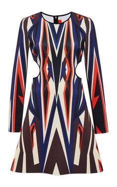Dynamic Sunset Cutout Dress by  for Preorder on Moda Operandi