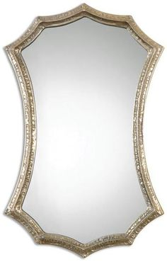 7a63735eff4 South Shore Decorating  Uttermost 12911 Mesdoura Transitional Mirror  UM-12911 Champagne Mirror