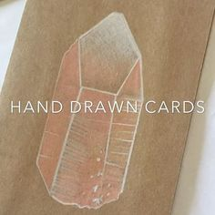 Call me crazy but I am hand drawing a series of crystal greeting cards 💌 • #crystals #crystal #crystalenergy #crystallove #rockhound #gem #crystalpoint #quartz #quartzcrystal #video #drawing #handdrawn #crystaldrawing #handdrawncards #brisbaneartist