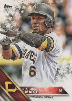 2016 Topps Holiday Baseball #HMW6 Starling Marte Front